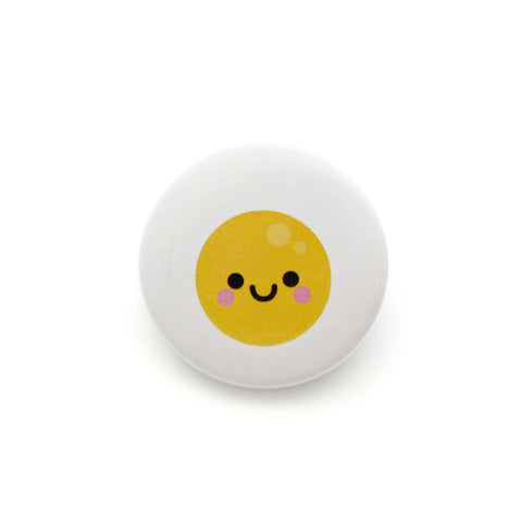 fried egg badge