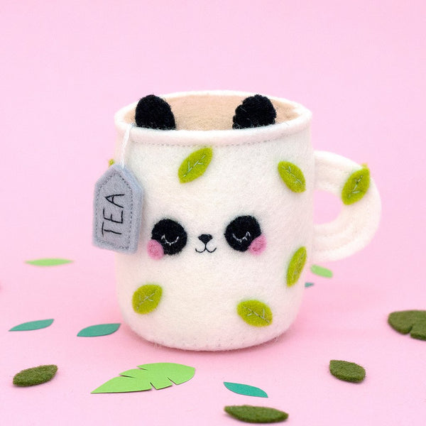 kawaii panda pincushion