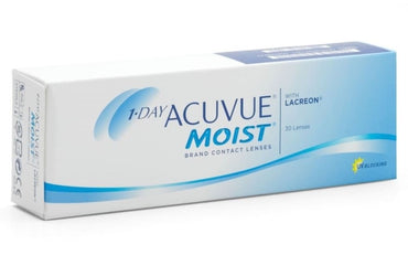 1 Day Acuvue Moist 30pk - Geo Contact Lens