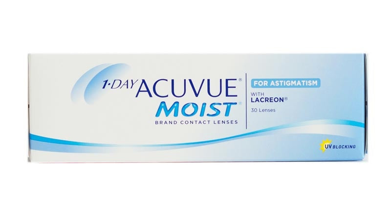 1 Day Acuvue Moist for Astigmatism 30pk - Geo Contact Lens