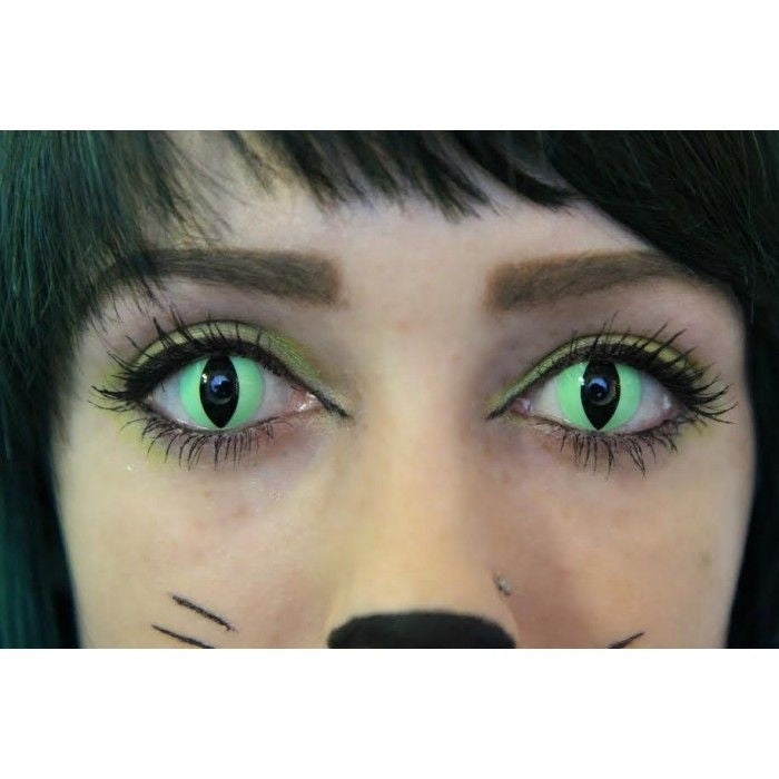 Geo Crazy Green Lizard Lens SFG05 - Geo Contact Lens