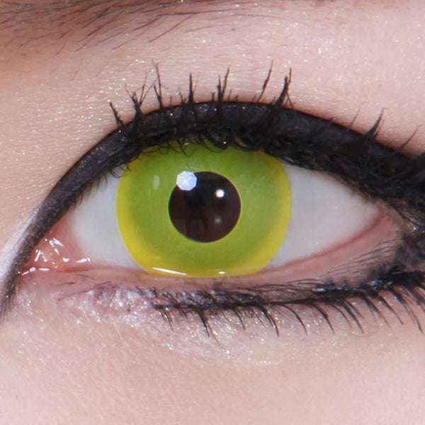 Geo Animation Yellow CP-F2 - Geo Contact Lens