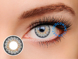 Geo Eyescream Rayray Gray XMU-A15 - Geo Contact Lens
