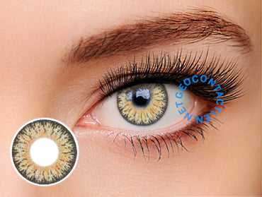 Geo Eyescream Vanilla Brown XMU-A14 - Geo Contact Lens