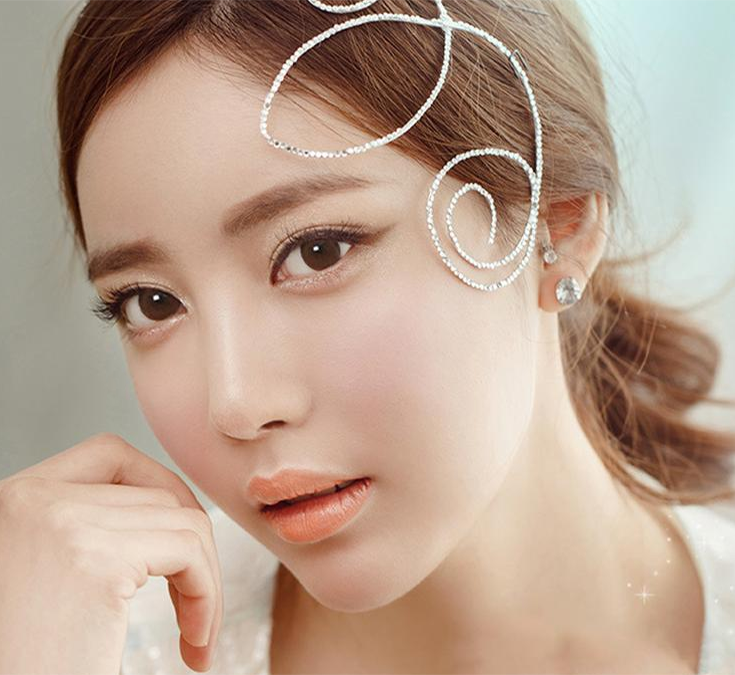 Geo Eyevelyn Brown (Silicone Hydrogel) Lens SIB24