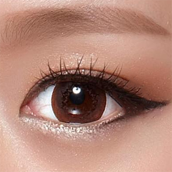 Geo Mimi Cappuccino Brown 15mm (Cafe Series) WMM-600 - Geo Contact Lens