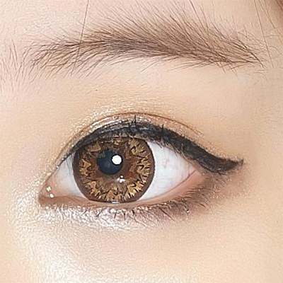 Geo Mimi Latte Brown Lens 15mm (Cafe Series) WMM-506 - Geo Contact Lens