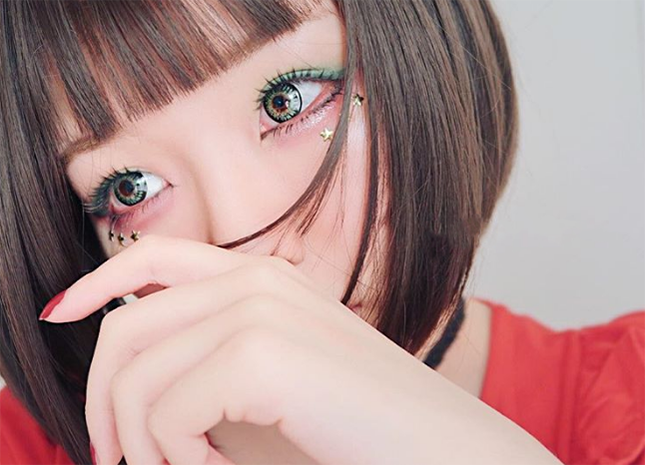 Geo Princess Mimi aka Bambi Lens Green Apple WMM-303 - Geo Contact Lens