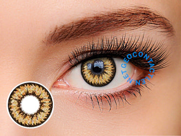 Geo Nudy Brown Lens CH-624 - Geo Contact Lens