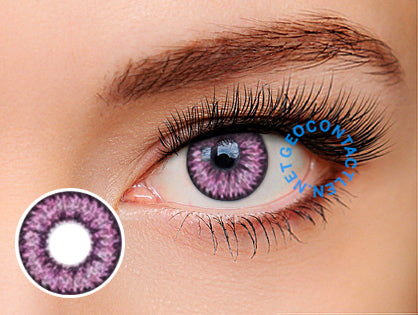 Geo Nudy Pink Lens CH-627 - Geo Contact Lens