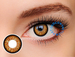 Geo Starmish Brown Princess Mimi XKP-304 - Geo Contact Lens