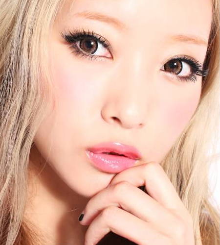 Geo Super Angel Brown Lens XCM214 - Geo Contact Lens