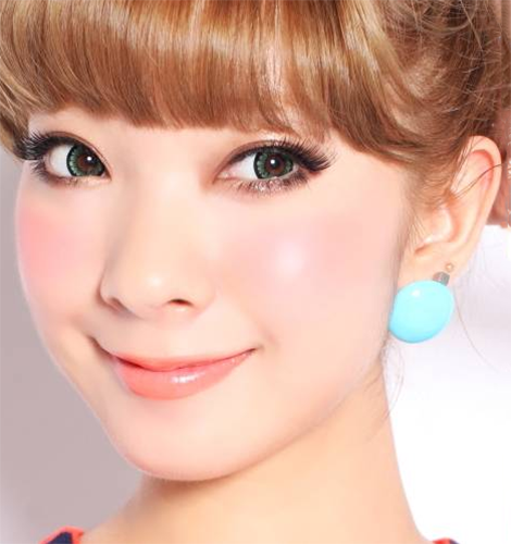 Geo Super Angel Green Lens XCM213 - Geo Contact Lens