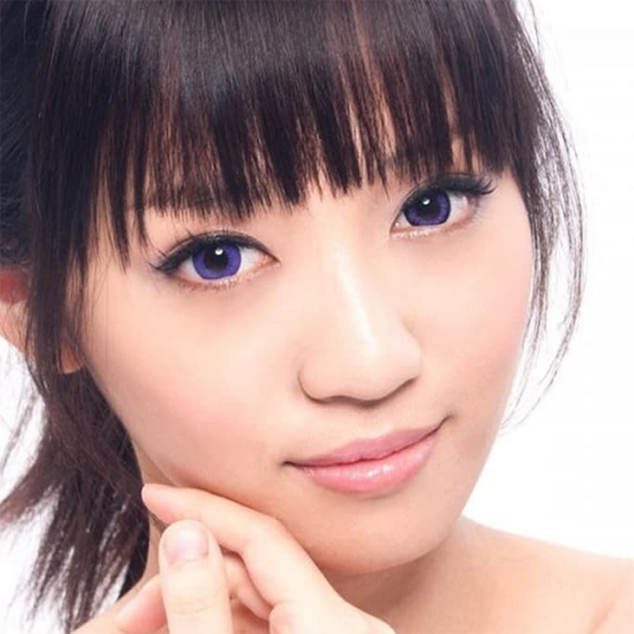 Geo Super Angel Violet Lens XCM211 - Geo Contact Lens