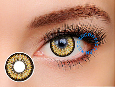 Geo Super Nudy Brown Lens XCH624 - Geo Contact Lens