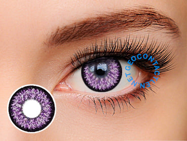 Geo Super Nudy Violet Lens XCH621 - Geo Contact Lens