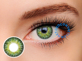 Geo Tri Color Green Lens (Berry Berry Chessy) CM-903 - Geo Contact Lens