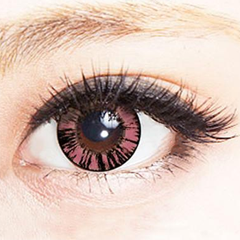 Geo Xtra Forest Pink Lens WT-B67 - Geo Contact Lens
