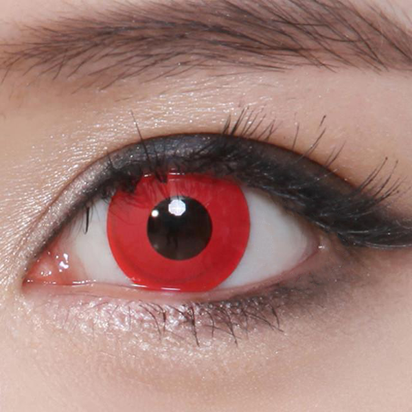 Geo Animation Red CP-F3 - Geo Contact Lens