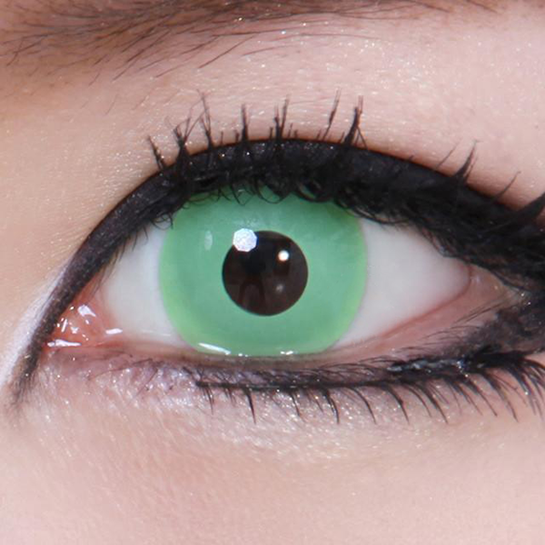 Geo Animation Green CP-F4 - Geo Contact Lens
