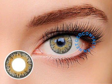 Geolica Euro Celine Gray FL-D35 - Geo Contact Lens