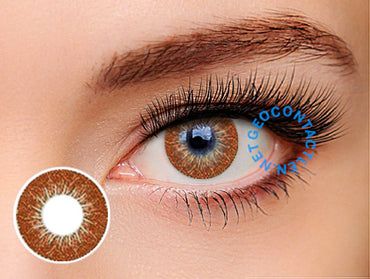 Geolica Euro Circle Choco Brown GO-A14 - Geo Contact Lens