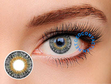 Geolica Euro Lady Pearl Gray GS-A15 - Geo Contact Lens
