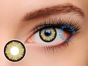 Geolica Holicat Barbie Hazel XHC506 - Geo Contact Lens