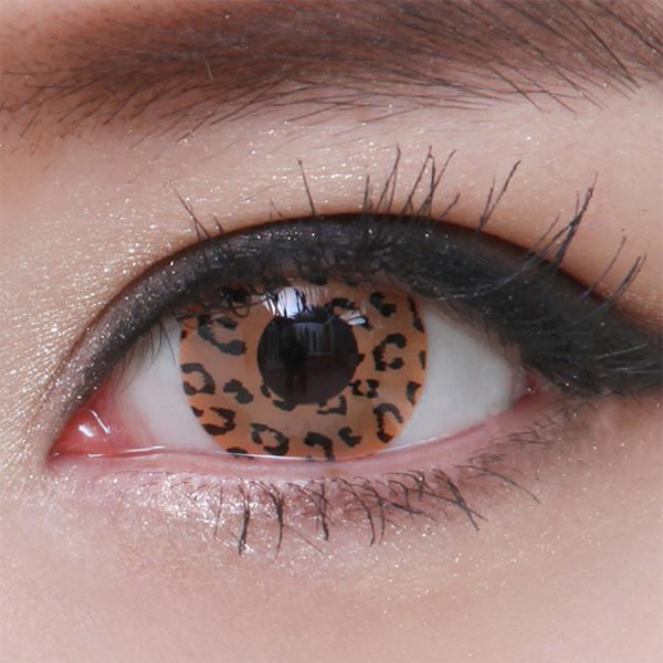 Geo Crazy Brown Leopard SF-63 - Geo Contact Lens