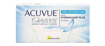 Acuvue Oasys for Astigmatism - Geo Contact Lens