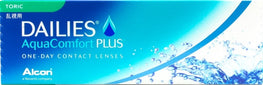 DAILIES AquaComfort Plus Toric 30pk - Geo Contact Lens