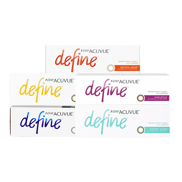 2becbb4af7c 1 Day Acuvue Define 30pk - Geo Contact Lens