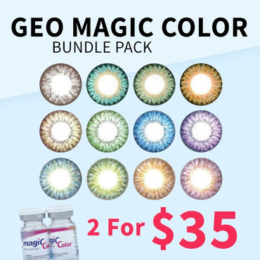 Geo Magic Color Bundle Pack - 2 For $35 - Geo Contact Lens