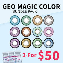 Geo Magic Color Bundle Pack - 3 For $50 - Geo Contact Lens