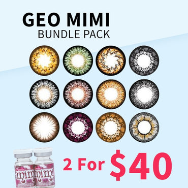 Geo MiMi Bundle Pack - 2 For $40 - Geo Contact Lens