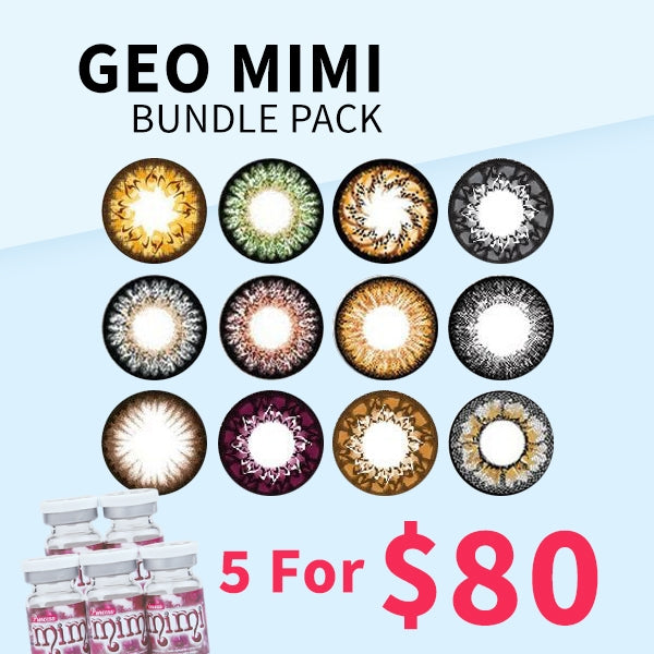 Geo MiMi Bundle Pack - 5 For $80 - Geo Contact Lens