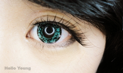 Geo Xtra Diamond Green Lens WT-B33 - Geo Contact Lens