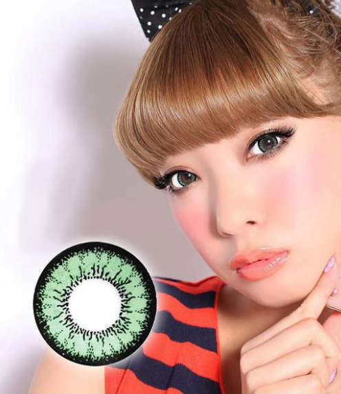 Geo Angel Green Lens CM-833 - Geo Contact Lens