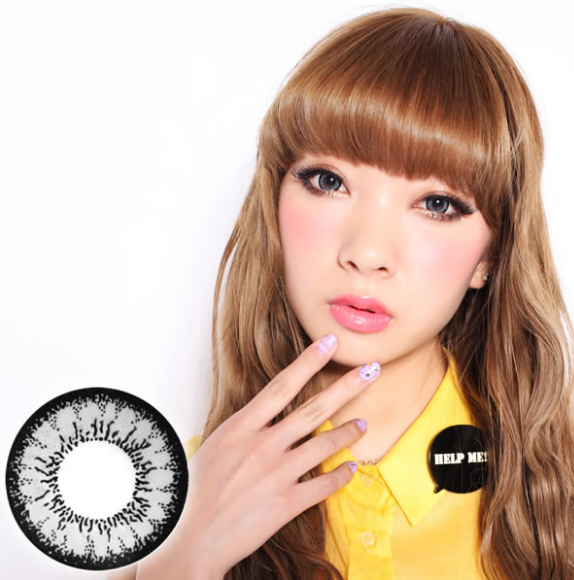 Geo Angel Gray Lens CM-835 - Geo Contact Lens