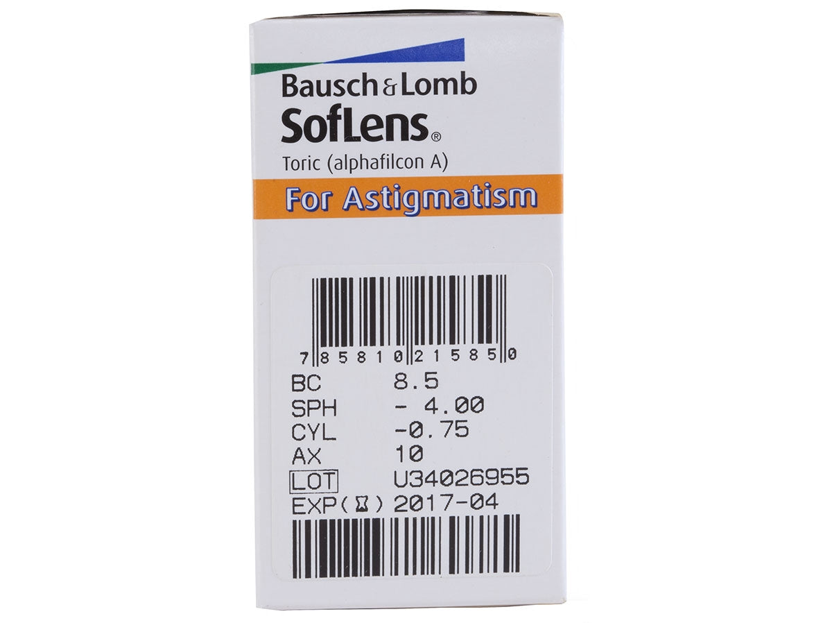 SofLens Toric (SofLens For Astigmatism) - Geo Contact Lens