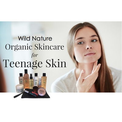 TEENAGE STARTER KIT - A simple start to great skin and a natural look