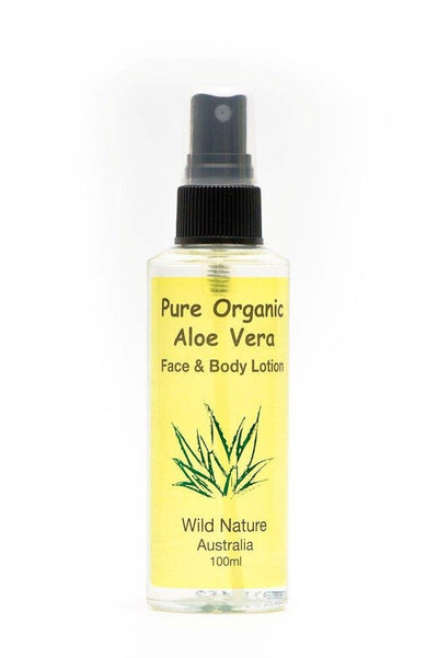 Face & Body Organic Aloe Vera Lotion