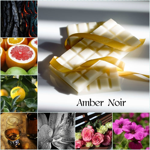 Amber Noir Wax Melt Snap Bar