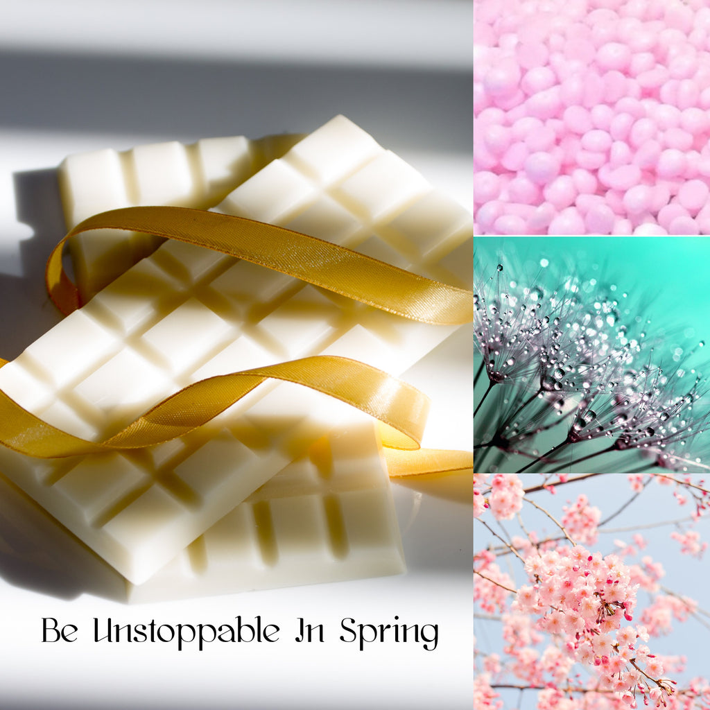 Be Unstoppable In Spring Wax Melt Snap Bar