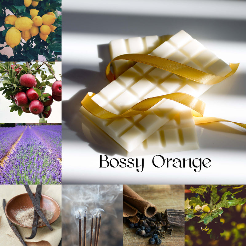 Bossy Orange Wax Melt Snap Bar