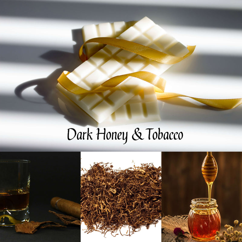Dark Honey And Tobacco Wax Melt Snap Bar