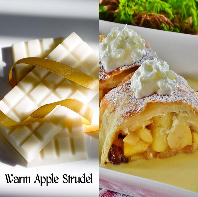 Warm Apple Strudel Wax Melt Snap Bar