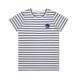 Newport Breakers Female Stripe Tee - Fresh Tees SYD