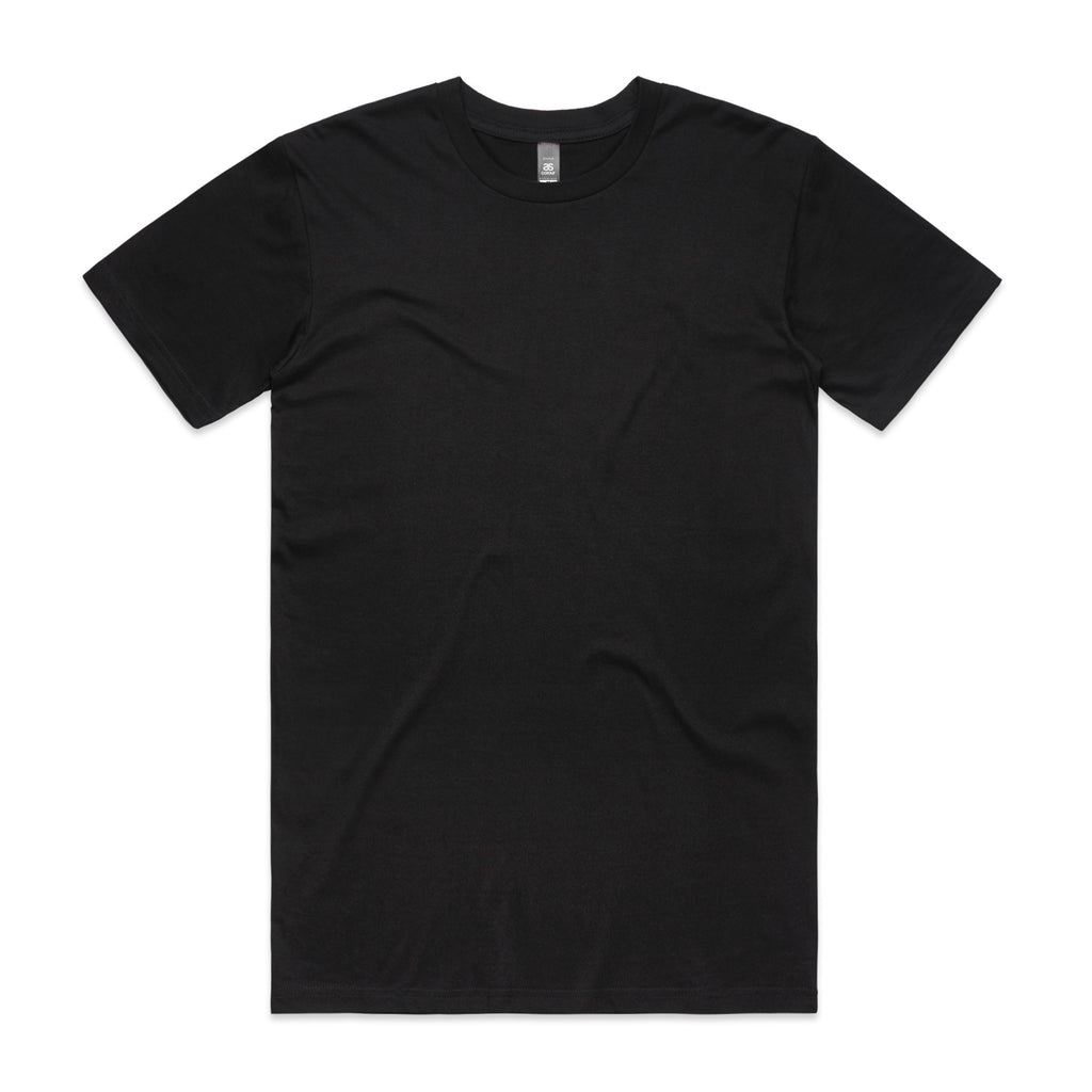 AS Colour Staple Tee - Black - Fresh Tees SYD