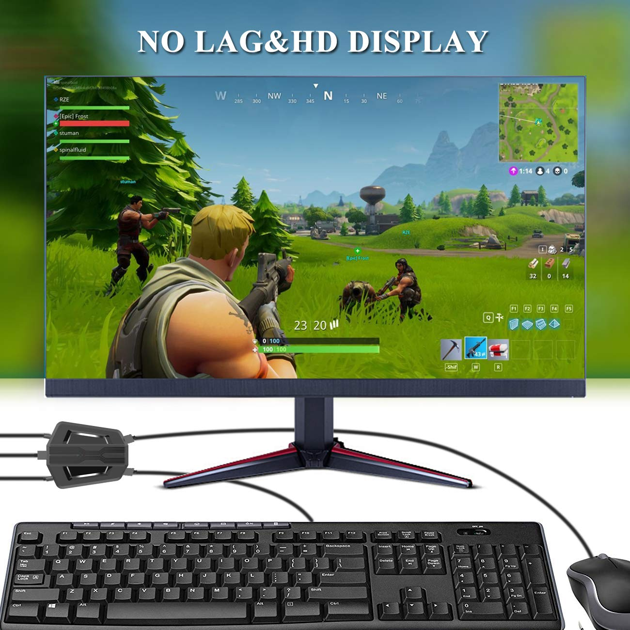 Dutison Keyboard And Mouse Adapter Compatible With Ps4 Xbox One Ninten Onpick